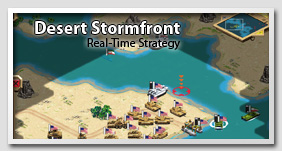 Desert Stormfront: Real-Time Strategy Game